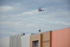 Вертолетный монтаж климатических систем ТК Амбар в Самаре